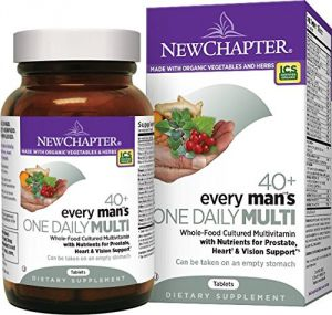 "New Chapter Every Man""s One Daily 40+ Multivitamin - 72 Ct"