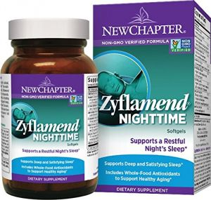 New Chapter Zyflamend Nighttime With Whole-food Antioxidants - 60 Ct (1 Month Supply)