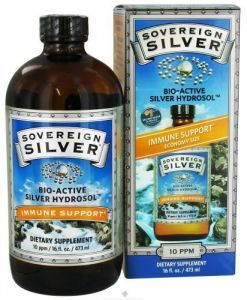 Sovereign Silver-silver Hydrosol Sovereign Silver Natural Immunogenics 16 Oz Liq