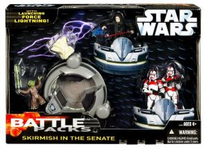 Star Wars Saga 06 Action Figure Battle Pack Skirmish In The Senate