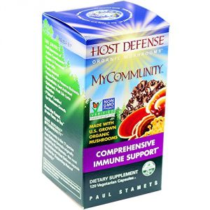 Host Defense Mycommunity Capsules, Comprehensive Immune Support, 120 Count