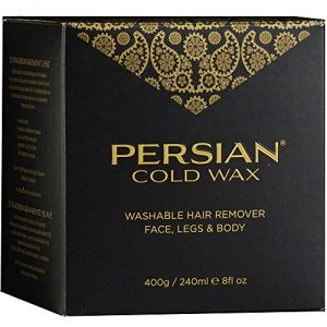 Persian Cold Wax Kit Body Sensitive Skin Formula 8 Ounces
