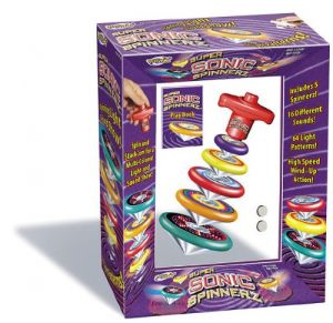 Geospace Super Sonic Spinnerz Light And Sound Spinning Top