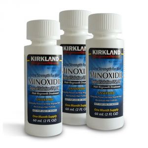 Hair Oils, Gels - Kirkland Minoxidil Hair Regrowth for Men 3 Months (180 ml)