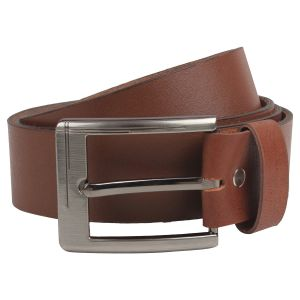 Belts (Men's) - Exotique Men's Tan Casual Belt (BM0008TN)