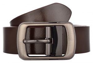 Exotique Men's Brown Formal Leather Belt (Code-bm0010BR)