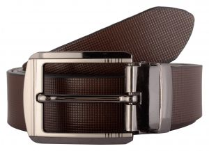 Belts (Men's) - Exotique Men's Black Formal Belt (BM0030BR)