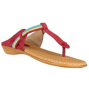 Exotique Women Flat Sandal_el0019rd