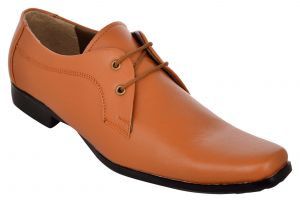 Formal Shoes (Men's) - Exotique Men's Tan Formal Shoe (EX0028TN)