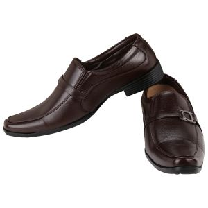 Formal Shoes (Men's) - Exotique Men's Brown Formal Shoe