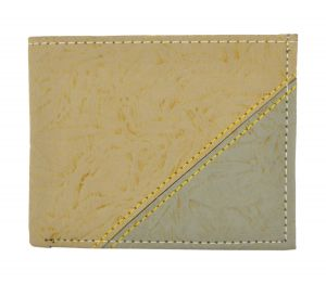 Wallets (Men's) - Exotique Men's Beige Wallet (WM0013BG)