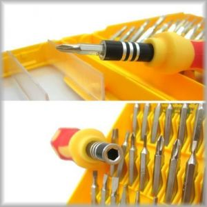 New Multipurpose 32 In 1 Screwdriver Hardware Tool Kit 1 PC With Tweezer