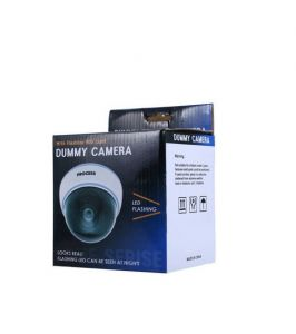Skys & Ray Dummy Dome Fake Camera Safely Security Surveillance Camera, White