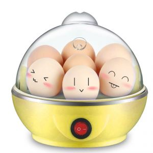 Mini Electric Egg Cooker Egg Boiler-yellow K176