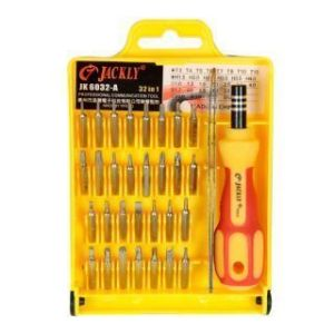 Jackly - (pack Of 2) New Style Jackly Multipurpose 32- In -1 Magnetic Screwdriver Tool Kit