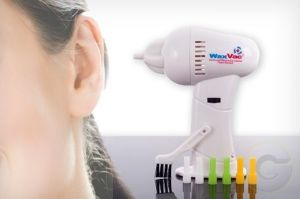 Battery Operated Handheld Cordless Ear Wax Cleaner