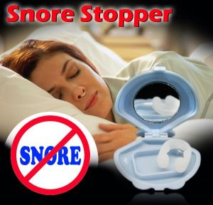 Personal Care & Beauty ,Health & Fitness  - Snore Stopper Anti Snore Silicone Nose Clip For Sleep Apnea