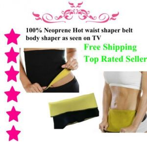 Neoprene Hot Waist Shaper Belt Shaper Vest Band Neotex Body Sweat Fat Burn.