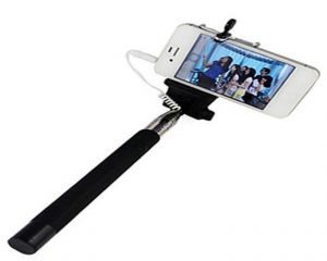 Selfie Stick Monopod With Aux Wire - Ssaux
