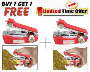 Sewing Machine - Buy 1 Get 1 Free! Handheld Mini Portable Sewing Machine Stapler Model