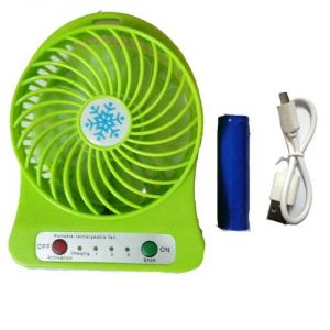 Fans ,Fans  - Mini Portable Rechargable Fan (assorted Color)