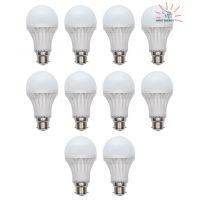Lighting - 5 Watt LED Bulb Energy Saver-10 PCs (1 PC Free)