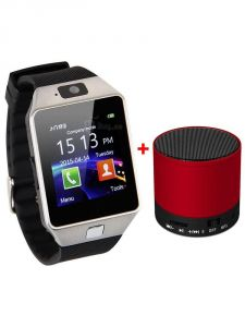 Others smart watches - VIZIO Z01 SIM Smart Watch with Camera and  32 GB Expandable Memory )   Bluetooth Speaker Free