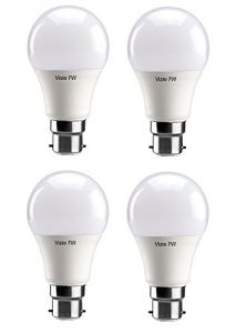 Vizio 7w Premium Quality LED Bulbs Pack Of 4
