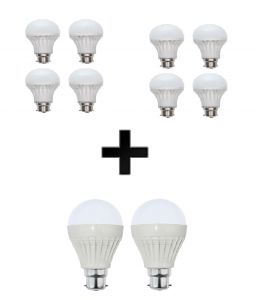 Vizio Combo Of 10 W LED Bulbs(set Of 4) , 15 W LED Bulbs(set Of 4) , 20 W