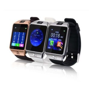 Ksj Dz09 Bluetooth Smart Wrist Watch Mobile Phone With Sim & Memory Card Slot,camera And Android Ios Connectivity (with Manufacturer Warranty)
