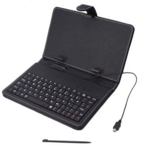 Mobile Phones, Tablets - Universal 7 Inch Tablet Keyboard Case