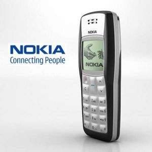 Nokia - Nokia 1100 Refurbished Single Sim Mobile