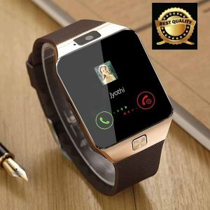 Smart watches - Dz09 Smartwatch Phone For Android Ios Bluetooth, Camera, Sim, Memory Slot - Assorted Color
