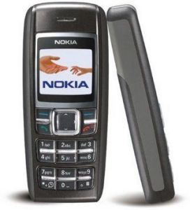 Panasonic,Motorola,Jvc,H & A,Snaptic,Nokia,Quantum,Vox,Sony Mobile Phones, Tablets - Nokia 1600 Featured Imported Mobile - Black