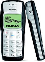 Nokia Mobile Phones, Tablets - Nokia 1100 Featured Imported Mobile Black