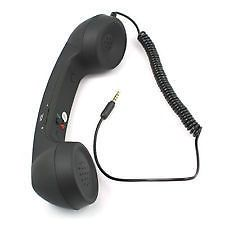 Mobile Accessories (Misc) - COCO PHONE 3.5 mm Wired Retro Handset Mobile iphones& Android Phone