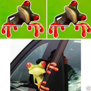 Moodeosa 3d Peep Funny Car Stickers Truck Window Decal Graphics Sticker