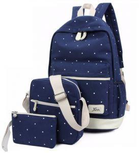 School bags - Aeoss Aeoss Women School Backpack College Wind Women's Backpack Canvas Fashion Backpacks