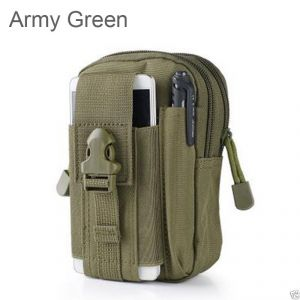 Carry cases and pouches for mobile - Aeoss Tactical Molle Pouch Belt Waist Packs Outdoor Phone Bag Case Fanny Pack Money