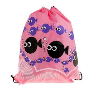 Gym bags - Phenovo Drawstring Swimming Bag Beach Bag Sports Gym Backpack Pink