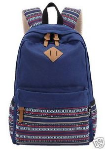 School bags - Aeoss Causal Style Canvas Laptop backpacks Shoulder Bag School Bag Aztec Triba Print