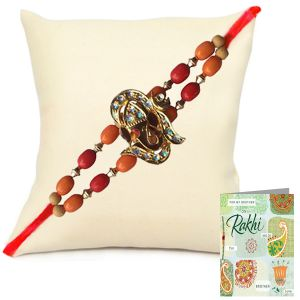 Rakhis & Gifts (Abroad) - Designer Rakhi for United Kingdom