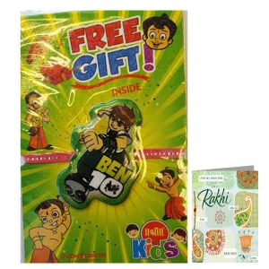 Rakhis & Gifts (Abroad) - Ben 10 Rakhi for United Kingdom