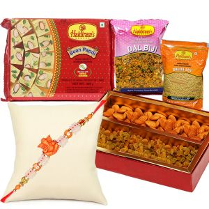 Rakhis & Gifts (Abroad) - Rakhi Gift Hamper for United Kingdom
