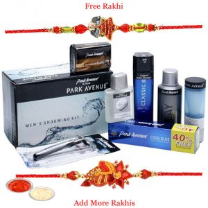 Rakhi Gift Hampers (for Brothers in India) - Park Avenue Gift Hamper with Rakhi