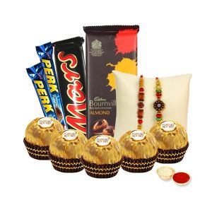 Rakshabandhan Gifts - Chocolates With Rakhi