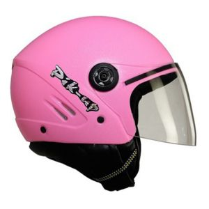 Pik-up Open Face Isi Helmet- K10 Pink
