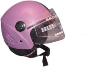 Stallion Open Face Isi Helmet (purple)