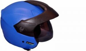 Aeroh Open Face Isi Helmet (blue)