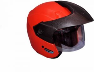 Aeroh Open Face Isi Helmet (red)